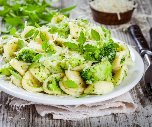 Pasta e broccoli alla Romana